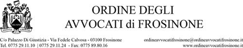 Ordine degli Avvocati di Frosinone